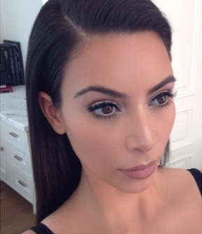 kim-kardashian-west-mario-dedivanovic-20-minute-make-up